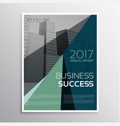 Amazing dark brochure or leaflet template vector