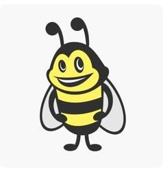 Little bee character vector