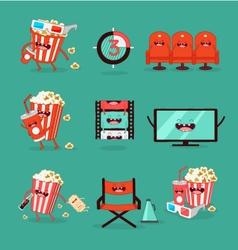 Movie Set vector image