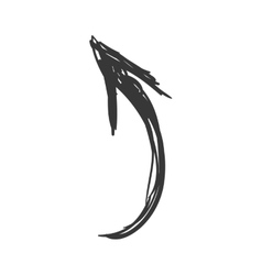 Sketch arrow icon direction design vector