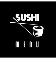 Suchi menu vector