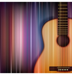 Abstract blue music background with acoustic vector