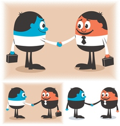 Deal vector image vector image