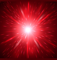 red abstract light background vector image vector image