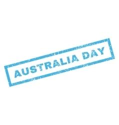 Australia day rubber stamp vector
