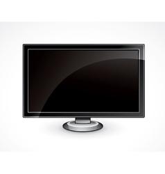 Flat panel tv vector