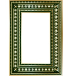 Luxury vintage ornate frame vector