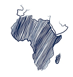 Africa continent vector