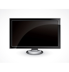 flat panel tv vector image