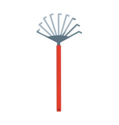Gardening fork icon vector