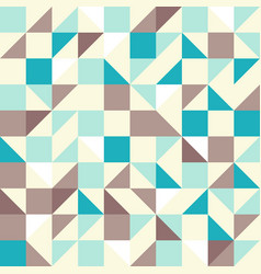 Brown and Blue Tiles vector image vector image