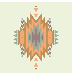 colorful decorative ethnic pattern vector image vector image