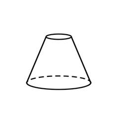 cone icon vector image