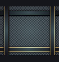 dark blue background with gold vector image vector image