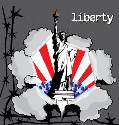 liberty vector image vector image
