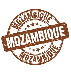 Mozambique stamp vector