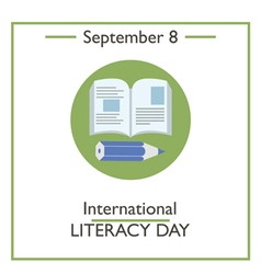 International Literacy Day vector image