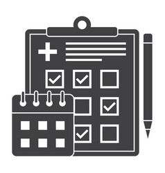 Appointment scheduler icon vector