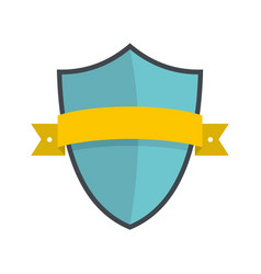 badge element icon flat style vector image