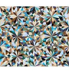 Mosaic Seamless Geometric Pattern vector image vector image