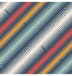 ornate stripes vector image
