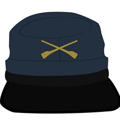 Army headgear cap vector image