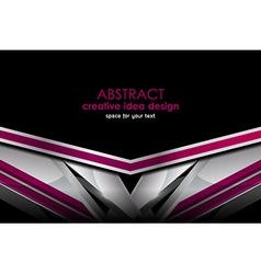 Geometric background design vector