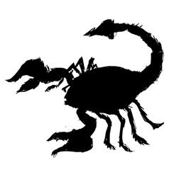scorpion vector image vector image