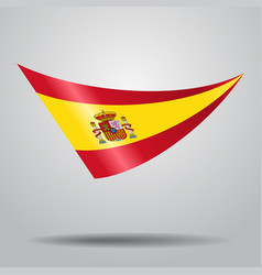 Spanish flag background vector