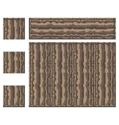 Texture for platformers pixel art - stone vector
