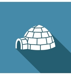 Igloo icon vector