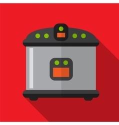 Breadmaker flat icon vector image vector image