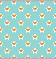 Retro texture with stars vector