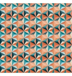Seamless geometric triangle tiling pattern vector