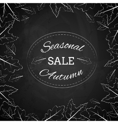 Season autumn sale vector image