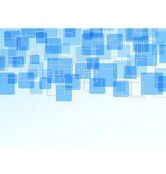 Blue bright tile particle background vector