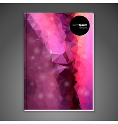 Abstract background cover vector