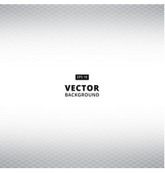 abstract white and gray grid perspective vector image vector image