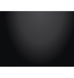 Black perforated metallic background vector