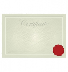 certificate frame vector image