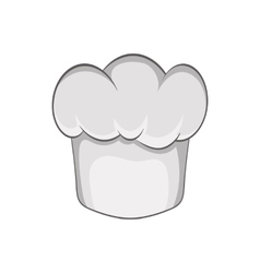 Chef hat icon in cartoon style vector image vector image