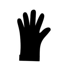Construction industrial glove vector