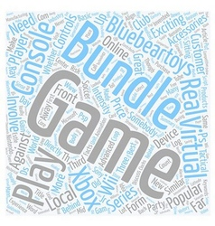 How to get a game bundle cheaply text background vector