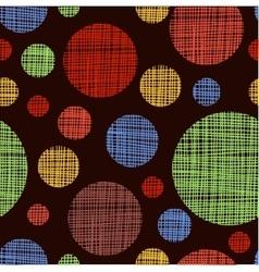 seamless shading circles background Eps10 vector image