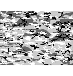 Urban camouflage grey cloth vector