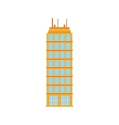 Building tower city icon graphic vector