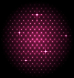 Abstract global with pink dots background vector