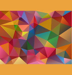 Abstract irregular polygon variegated background vector