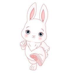 Cute bunny vector