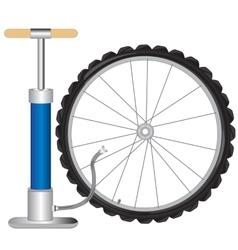 Manual pump and wheel vector